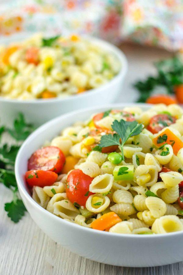 Salade de Pâtes et de Légumes