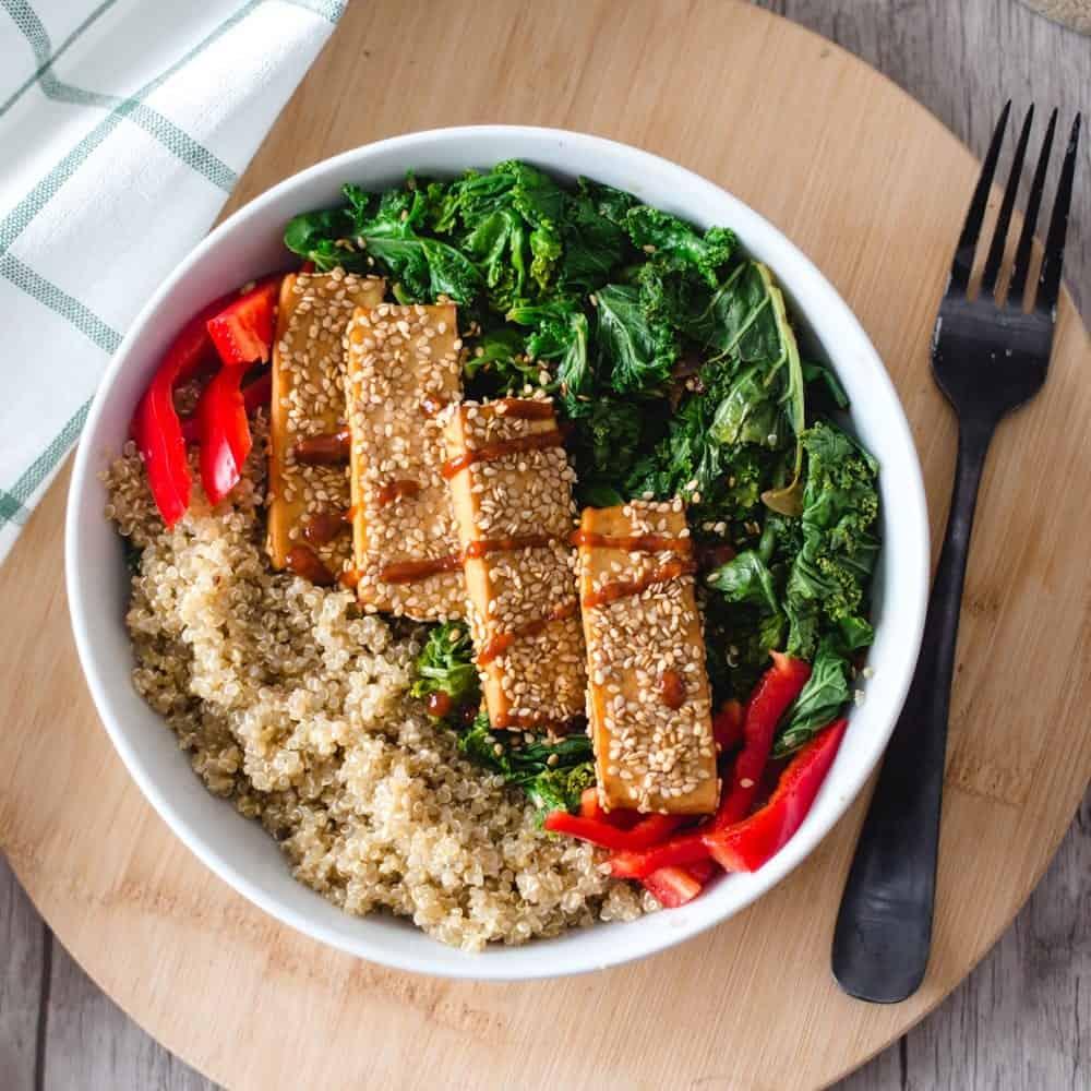 Tofu Croustillant aux graines de sésame